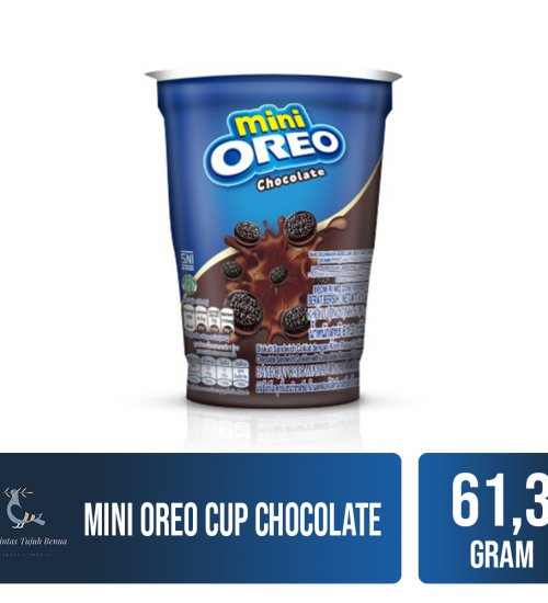 Food and Beverages Mini Oreo Cup 61.3gr 1 mini_oreo_cup_chocolate_61g