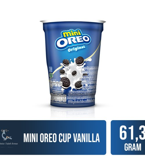 Food and Beverages Mini Oreo Cup 61.3gr 4 mini_oreo_cup_vanilla_61g